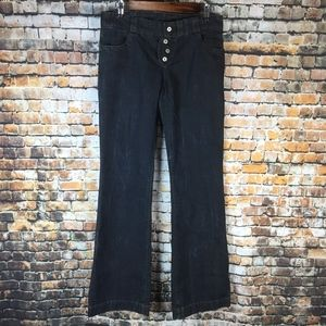 (NWOT) Citizens of Humanity Black Flare Jeans